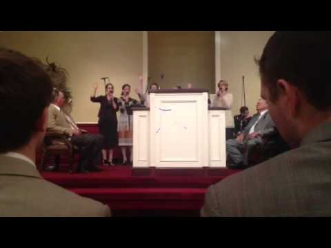 First Apostolic Church A Capella Group Singing No Not One