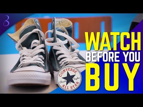 5 REASONS TO BUY CONVERSE CHUCK TAYLOR ALL STAR SHOES | Why You Should Wear Converse