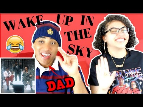 MY DAD REACTS TO Gucci Mane, Bruno Mars, Kodak Black - Wake Up in The Sky [Official Video] REACTION
