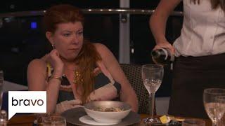 Below Deck Mediterranean: Guests Compare Adam's Dinner to Dog Food (Season 3, Episode 1) | Bravo