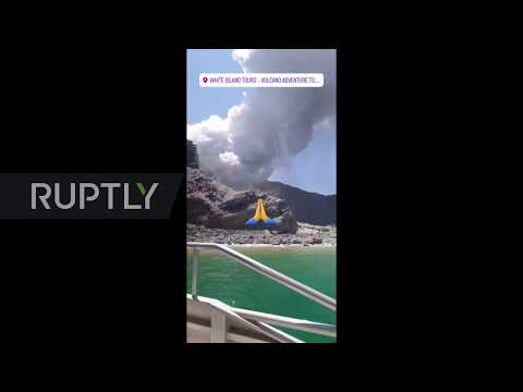 New Zealand: Dozens feared dead afer White Island volcano erupts