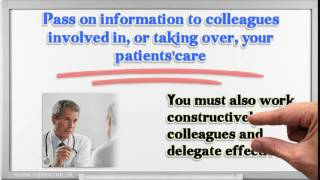Appraisal of doctors GMC recommendation domain 3