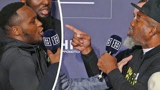 """""""I'MA BREAK YOUR F**IN JAW!!"""" -  KSI vs. Logan Paul TRAINERS GO AT IT!! at Press Conference 