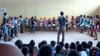 Apresentação Das Crianças Do Proojeto EME 2010