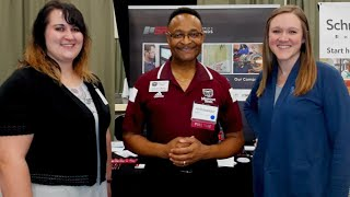 MSU Scenes From 2019 EXPO Career Fair   Springfield, MO