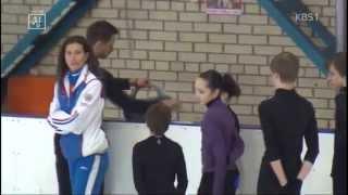 Сюжет корейского ТВ о подготовке фигуристов в России