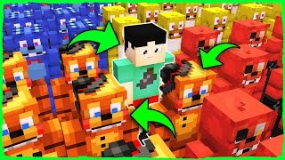 Minecraft FNAF - WHO is the REAL Five Nights FREDDY?!