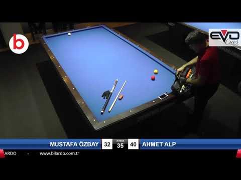 MUSTAFA ÖZBAY & AHMET ALP Bilardo Maçı - PLATINUM BİLARDO TAKINI CUP 2019-SON 16