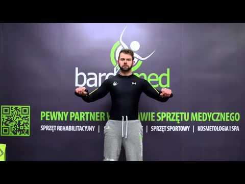 Ćwiczenia terapeutyczne wzmocnić mięśnie brzucha i pleców