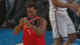 Kyle Lowry Gets Angry At Ref Then Tries To Check Him and Gets Ejected! Raptors vs Nets