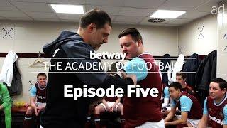 Slaven Bilic gives a surprise team talk to the West Ham Amateur team | #BetwayAcademy Ep 5.