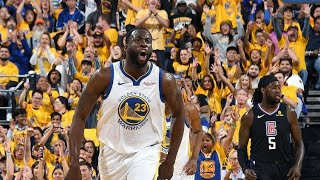 NBA PLAYOFFS Round 1: Golden State Warriors vs. L.A. Clippers!