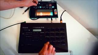 Roland R-5 Human Rhythm Composer Roland Tb-3
