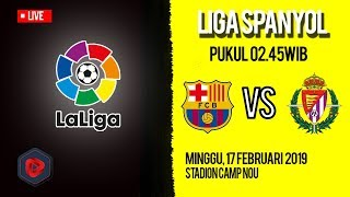 Live Streaming dan Jadwal Pertandingan Barcelona Vs Valladolid di HP via MAXStream beIN Sport
