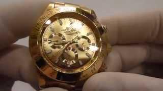 """Мужские часы Rolex Daytona механические серебро от компании """"Магазин Все, Что Нужно"""" - видео"""