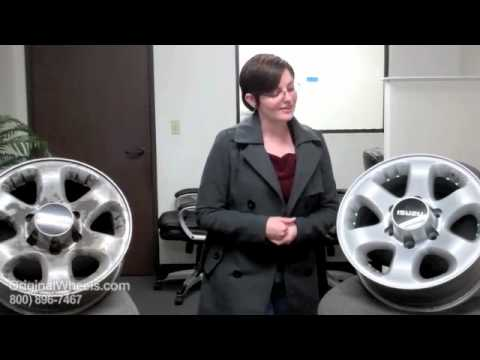 Ascender Rims & Ascender Wheels - Video of Isuzu Factory, Original, OEM, stock new & used rim Co.