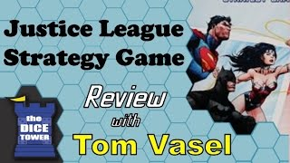 Justice League Strategy Game Review - with Tom Vasel