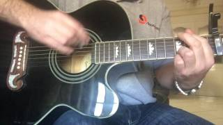 The Auld Triangle Acoustic Guitar Cover