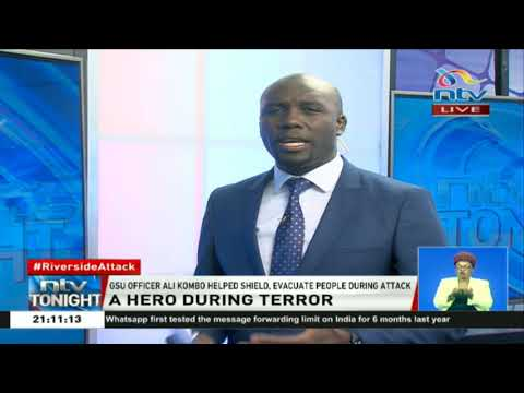 A hero during terror: GSU officer Ali Kombo's story