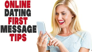 Top 5 Online Dating First Message Tips