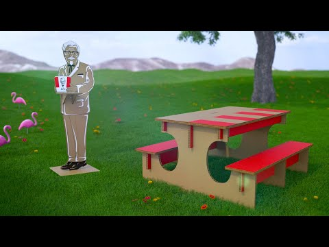 KFC Innovations Lab | Picnic with the Colonel