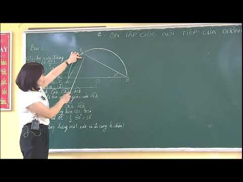 Môn Hình học khối 9 - BT Về góc nội tiếp với đường tròn - Nguyễn Thị Hồng Yến - Trường THCS Trần Phú
