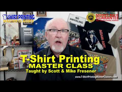 Learn How to Print T-Shirts - Master Class - YouTube