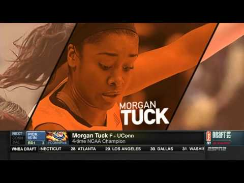 Morgan Tuck Heads to Connecticut Sun!