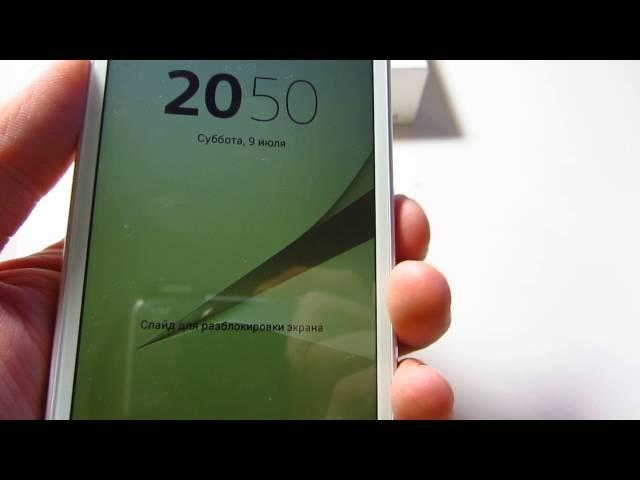 Видео Sony Xperia z5