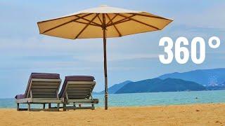 Beach 360° Google Cardboard Virual Reality VR - Relaxing ocean sounds