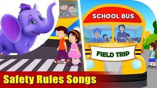 Safety Rules Songs | 4K | Appu Series