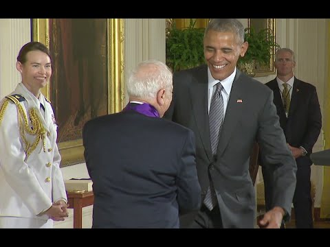 Mel Brooks turns 94 today. In 2015 he received the National Medal of Arts.