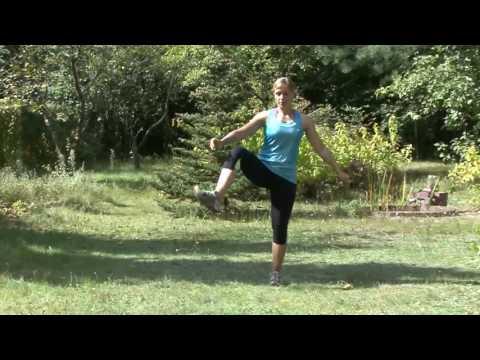 Ćwiczenie mięśni, które działają na kole