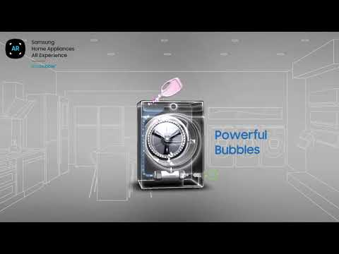 Samsung Freestanding Washing Machine WW90T634DLH - Graphite Video 1