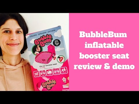 BubbleBum Inflatable Car Booster Seat Review & Demo