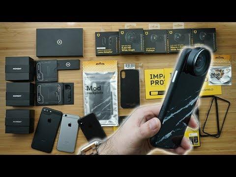 Nutzlos.. oder genial? Objektive fürs Smartphone - Der iPhone X Test im Moment vs Rhinoshield
