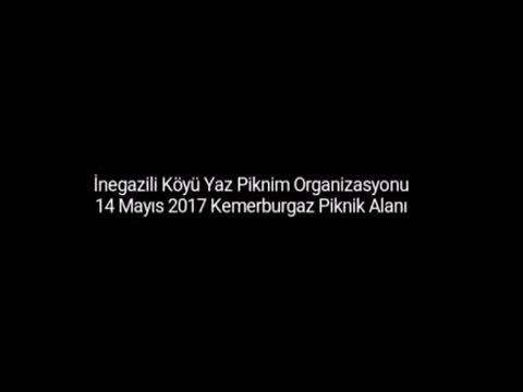 İnegazili Köyü Bahar Piknigi 2017 Yer Seçimi