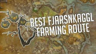 The BEST Fjarnskaggl Farming Path as of Patch 7.3.5
