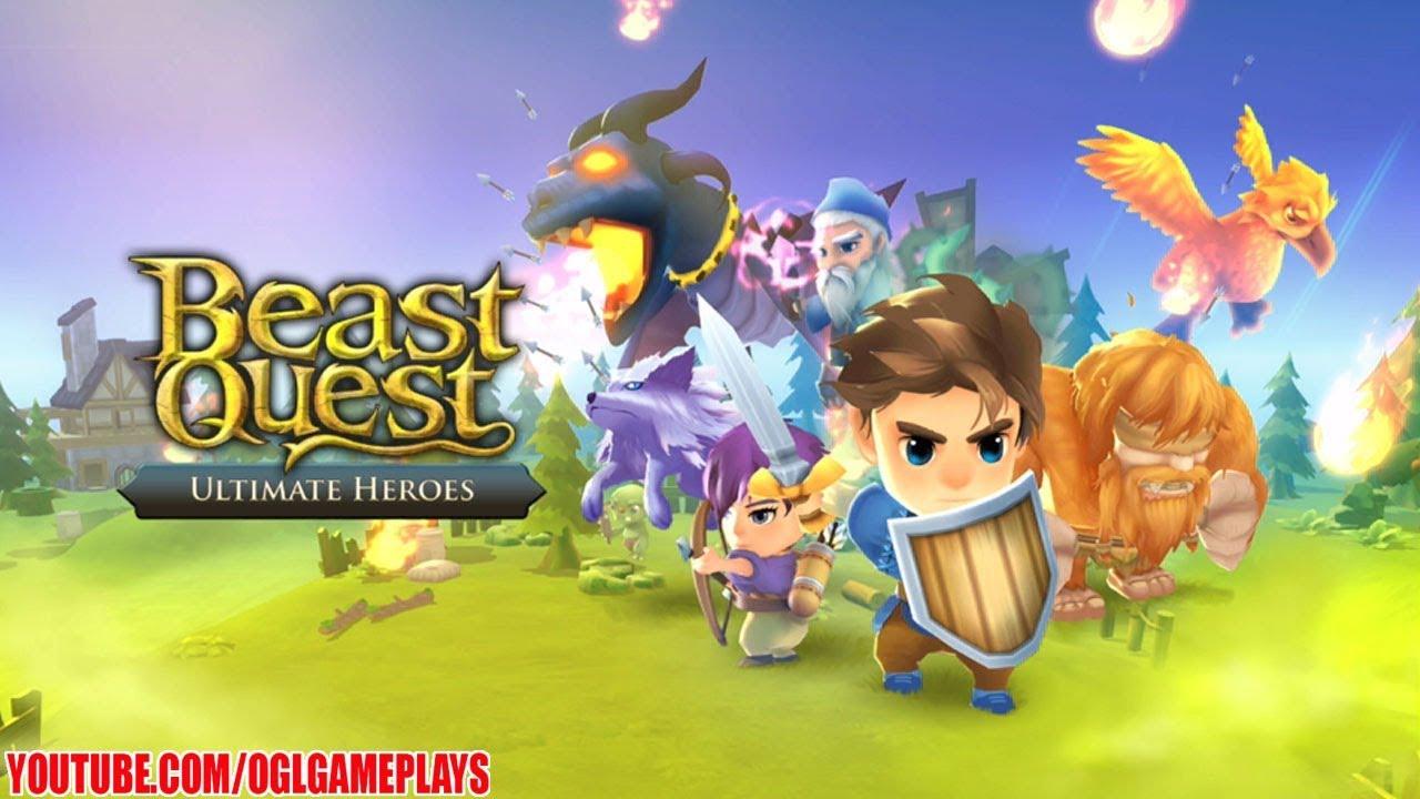 beast quest ultimate heroes на android и ios  информация