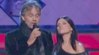 "Laura Pausini y Andrea Bocelli  ""Vive ya"""
