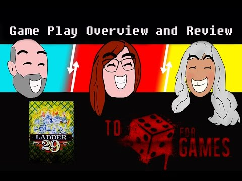 Ladder 29: Game Play Overview and Review - To Die For Games