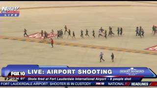 MASS SHOOTING: Passengers RUNNING For Their Lives At Ft. Lauderdale After Mass Shooting - FNN