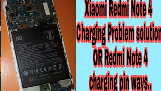 Redmi note 4 (2016100) Charging Solution    - hmong video