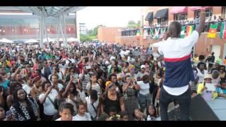Eddy Kenzo performing Sitya Loss (Fest Africa 2014)