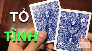 [ ẢO THUẬT TÁN GÁI ] HƯỚNG DẪN MŨI TÊN XUYÊN TRÁI TIM ( CUPID CARD TRICK ) | TUAN MG
