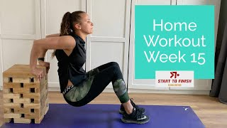 Home workout week 15