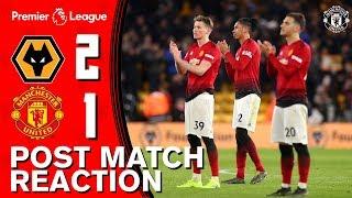 Solskjaer And McTominay Upbeat Despite Defeat | Wolves 2-1 Manchester United | Reaction