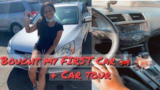 I BOUGHT MY FIRST CAR AT 19! + CAR TOUR