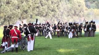 preview picture of video 'Wavre : Napoléon reconstitution historique de la bataille.'