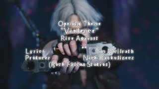 Devil May Cry 5 - Anime Opening - Violence | Rise Against